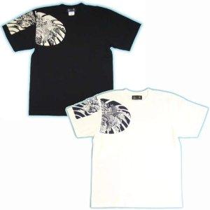 画像4: 鳳凰 刺青 胸割右 背中鳳凰 紅雀ブランド 通販 名入れ刺繍可 (和彫り)  和柄 tシャツ 和柄服