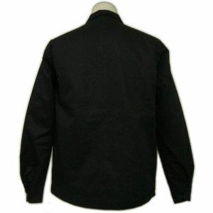 画像2: 黒 ジャケット( スイングトップ ブルゾンジャンパー) 星 刺繍 カー倶楽部 通販