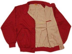 画像3: 大きいサイズ 赤い スイングトップ LL 3L 4L 5L 赤 紺 ジャンパー / 刺繍 名前入れ可 カー倶楽部 通販