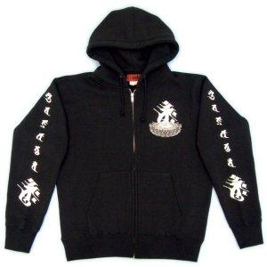 画像3: 蓮華座大日 梵字 スエット パーカー 刺青デザインのマハースカ(名入れ刺繍可)通販 和柄服