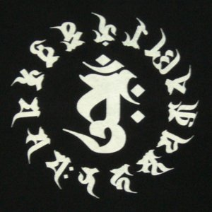 画像3: 干支梵字Tシャツ大日如来バン