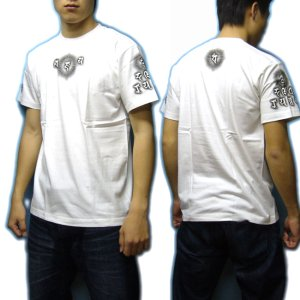 画像3: 毘沙門天 梵字 Tシャツ 刺青 デザイン のマハースカ 梵字タトゥー (名入れ刺繍可)通販 和柄服 梵字徹底
