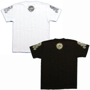 画像5: 毘沙門天 梵字 Tシャツ 刺青 デザイン のマハースカ 梵字タトゥー (名入れ刺繍可)通販 和柄服 梵字徹底