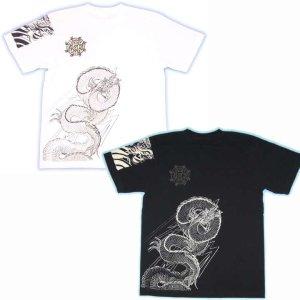 画像5: 龍の刺青デザインTシャツ通販