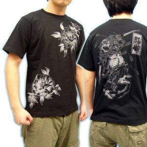 画像4: 水滸伝 刺青 デザイン 扈三娘 和柄 Tシャツ 紅雀の 通販 (名入れ刺繍) 和柄服