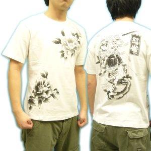 画像5: 水滸伝 刺青 デザイン 扈三娘 和柄 Tシャツ 紅雀の 通販 (名入れ刺繍) 和柄服