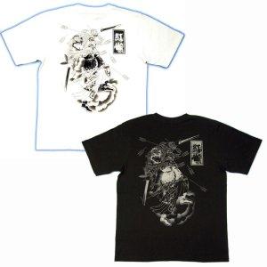 画像3: 水滸伝 刺青 デザイン 扈三娘 和柄 Tシャツ 紅雀の 通販 (名入れ刺繍) 和柄服