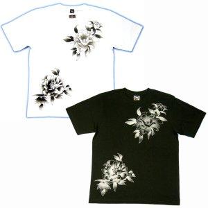 画像2: 水滸伝 刺青 デザイン 扈三娘 和柄 Tシャツ 紅雀の 通販 (名入れ刺繍) 和柄服