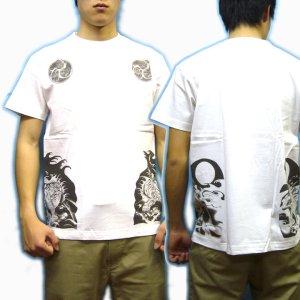 画像3: 虎巴 和柄 Tシャツ 紅雀 通販 名入れ刺繍可 刺青 和彫り デザイン