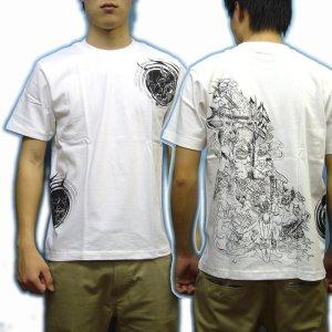 画像3: 地獄絵図の和柄Tシャツ通販