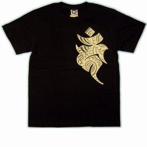 画像4: 不動明王 刺青 風梵字みきり 和柄 Tシャツ 紅雀ブランド 通販 名入れ刺繍可 (仏像画) 和柄服