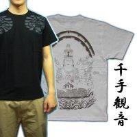 千手観音の菩薩Tシャツ通販
