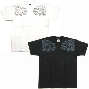 画像2: 文殊菩薩 獅子 の仏像画 和柄 Tシャツ [紅雀 通販] 名入れ刺繍対応 刺青 和彫り 胸割 和柄服