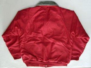 画像2: 赤 ドカジャン パイロット ジャンパー 大きいサイズ 刺繍 入り