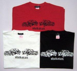 画像2: トライバル デザイン 旧車 Tシャツ ( ハコスカ スカイライン GT-R 街道車 シャコタン )