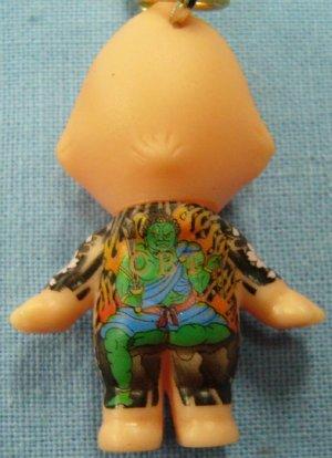 画像1: 【不動明王】刺青キューピー携帯ストラップ悪羅悪羅系根付 通販