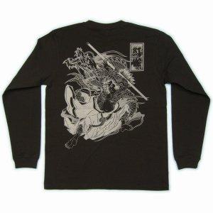 画像4: 史進 和柄 長袖Tシャツ 刺青デザインの紅雀(名入れ刺繍可)通販 和柄服