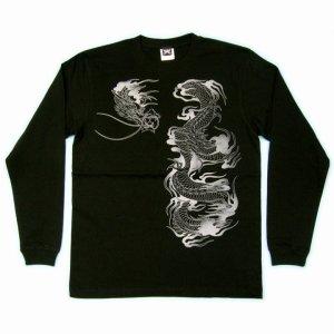 画像3: 史進 和柄 長袖Tシャツ 刺青デザインの紅雀(名入れ刺繍可)通販 和柄服