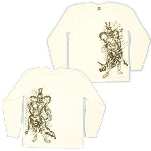 画像5: 金剛力士像 和柄 長袖Tシャツ 刺青デザインの紅雀(名入れ刺繍可)通販 和柄服