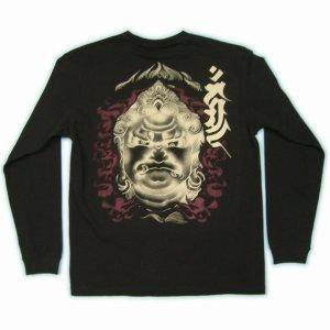 画像3: 不動明王 和柄 長袖Tシャツ 刺青デザインの紅雀(名入れ刺繍可)通販 和柄服