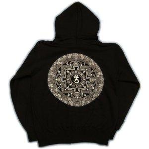 画像4: 天星宮曼陀羅 梵字 スエット パーカー 刺青デザインのマハースカ(名入れ刺繍可)通販 和柄服