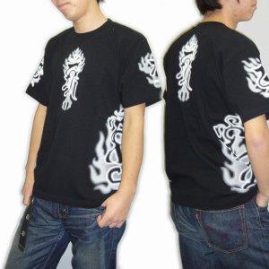 画像2: 不動三尊の梵字Tシャツ通販