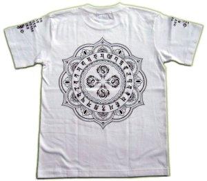 画像4: 阿弥陀来迎の 梵字Tシャツ 通販