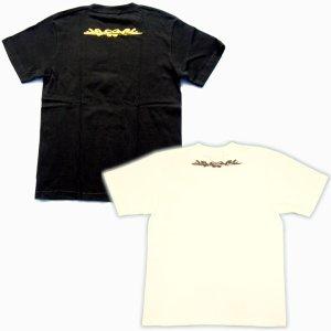 画像5: 龍と蓮の和柄Tシャツ通販