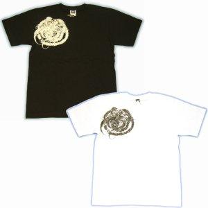 画像2: 鳳凰と菊の刺青デザインTシャツ通販