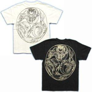 画像5: 巴火龍の和柄Tシャツ通販