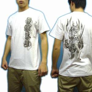 画像5: 風林火山武田信玄和柄 Tシャツ通販