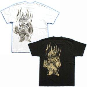 画像3: 風林火山武田信玄和柄 Tシャツ通販