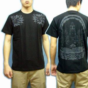 画像5: 千手観音の菩薩Tシャツ通販