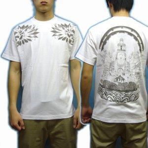 画像4: 千手観音の菩薩Tシャツ通販