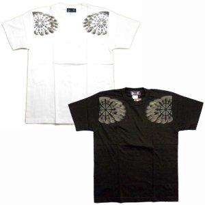 画像2: 勢至菩薩 立像の仏像画 和柄 Tシャツ 紅雀ブランド通販 名入れ刺繍可 胸割 刺青 和彫り 和柄服