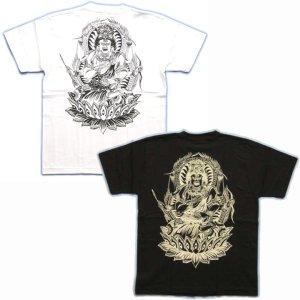 画像3: 愛染明王仏画Tシャツ通販