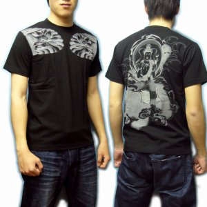 画像4: 普賢菩薩の菩薩Tシャツ通販