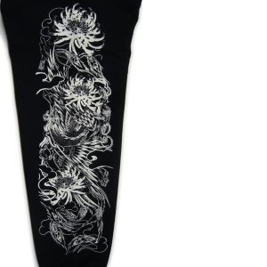 画像5: 金鳳凰 和柄 パーカー スエット刺青デザインの紅雀(名入れ刺繍可)通販 派手 パーカー 和柄服